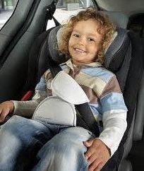 cinturón de seguridad o asiento de seguridad infantil todavía?