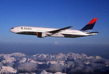Delta Airlines. La compagnia aerea Delta Airlines: recensioni