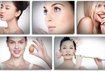 Wie Sie Ihre Haut zu Hause (professionelle und Volksmedizin) aufzuhellen