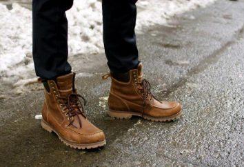 ¿Cómo elegir las botas de invierno de los hombres? Consejos sobre los fabricantes críticas