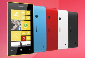 """""""Nokia Lyumiya 520"""": Funkcje telefonu, opinie i zdjęcia"""