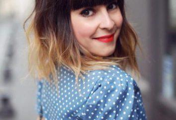 farbowanie włosów na krótkie włosy: trendy w modzie i rzeczywistych kolorów