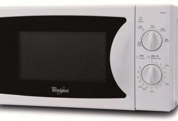 Kuchenka mikrofalowa Whirlpool: przeczytaj przewodnik