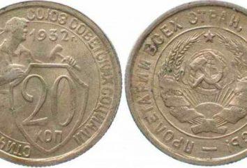 20 cents 1932: description des variétés, la rareté numismatique