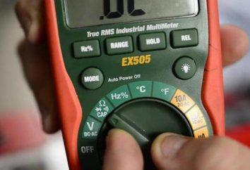 pinces de mesure de la désignation de l'espèce. appareils électriques