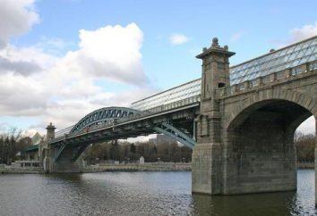 Ponte Pushkinsky: l'interesse e come ottenere