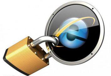 Como configurar o Internet Explorer configuração de segurança reforçada em ІE?