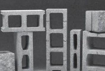 tamanhos padrão de blocos da brisa