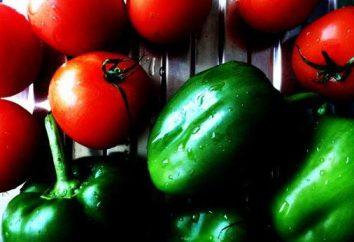 Pimentas com tomates para o inverno. As melhores receitas