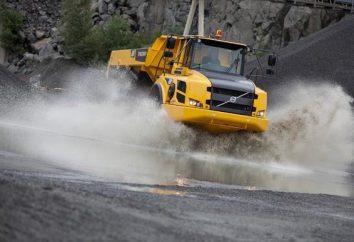 """Truck Mining """"Volvo-A35F»: Beschreibung und Eigenschaften"""