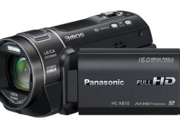 Visão geral da Panasonic HC X810