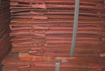 Cuivre – un corps ou d'une substance? propriétés du cuivre