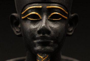 Osiride – il dio dell'antico Egitto. Immagine e simbolo del dio Osiride