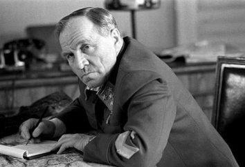 Aktor Mikhail Ulyanov: biografia, rodzina, filmografia
