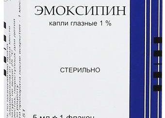 """""""Emoksipin"""" (krople do oczu) opinie, cena, przeciwwskazania i instrukcje użytkowania"""