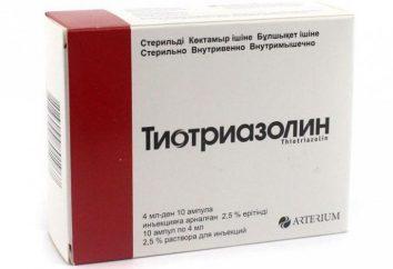 """Drug """"Thiotriazoline"""": Analoga, deren Vergleich und Bewertungen"""