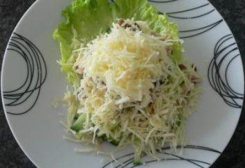 """""""Männliche Laune"""" Salat: ein Schritt für Schritt Rezept, Zutaten"""