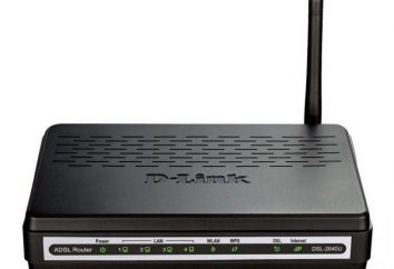Konfiguracja D-Link DSL-2640U: krok po kroku
