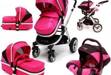 voitures de notation « 3 en 1 » pour les nouveau-nés. Poussettes: classement des meilleurs