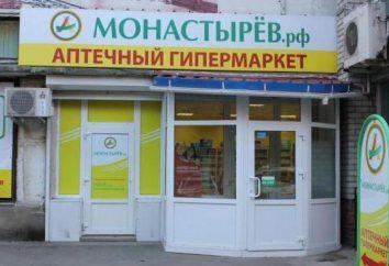 """Marque """"Monastyrov"""" – pharmacies en libre-service à Vladivostok"""