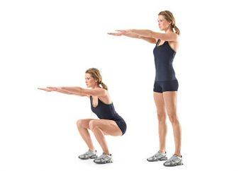 Aufgeblasenes Gesäß: effektive Übungen