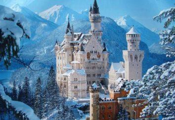 Castelos brancos da Europa e do mundo (foto)