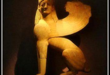 Sphinx, la nature – un monstre, dévorant tout avec des énigmes. Les images dans la littérature