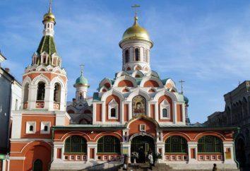 Catedral Kazan, na Praça Vermelha: história e descrição