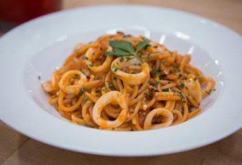 Pasta con calamari – un piatto preferito degli italiani