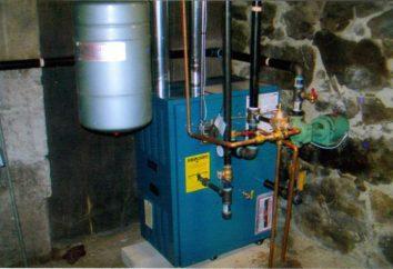 kocioł gazowy z kotła i pojedynczej pętli turbowentylatorowych pośredniego ogrzewania: obwód sprzężenia zwrotnego łączący