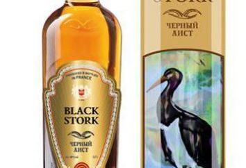 """Cognac """"Cicogna nera"""": la storia della creazione, gusto e recensioni"""