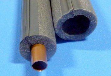 Materiały izolacyjne do rur z pianki polietylenowej: rozmiar, cech zdjęcia