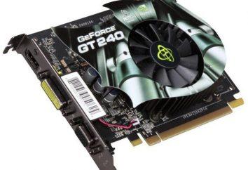 Karta graficzna GeForce GT 240: Cechy, recenzje, opinie i zdjęcia