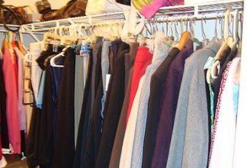 Rack pour les vêtements: l'histoire des choses ordinaires