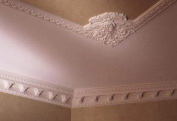 Come per incollare le modanature del soffitto al soffitto tensione con le mani