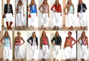Białe dżinsy: trendy i rozwiązania problemów