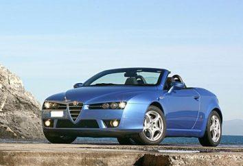 Alfa Romeo Spider – exclusive sur les routes russes