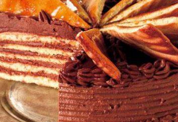 Traditionnel gâteau hongrois « Dobos »: recette maison