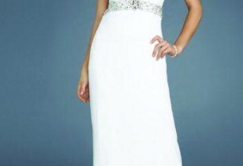 vestido de noche blanco – el lujo y la modestia en un traje