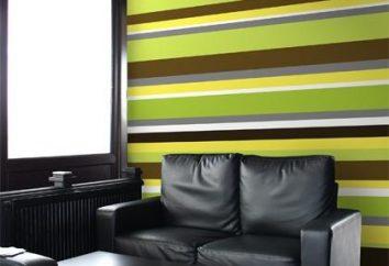 Papel de parede listrado – decoração de interiores