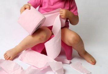 Por que não é a incontinência fecal em uma criança?