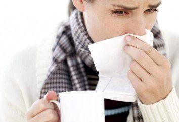 Síntomas de resfriados, prevención y tratamiento