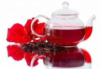 té de hibisco para la pérdida de peso y la mejora de la salud