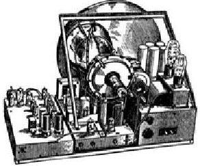 A primeira televisão na URSS – o mecânico, eletrônico e não ferrosos