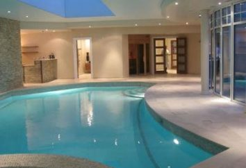 Kąpiel konstrukcja z basenem