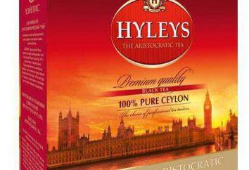"""""""Hyleys"""" – chá com sabor rico"""