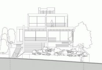 Disposizione di una casa privata