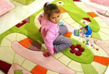 Wie ein Teppich für Kinder wählen?