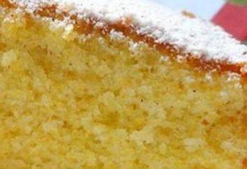 La torta bagnata. Ricette pan di spagna