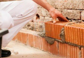 Comment poser une brique? Une petite visite de l'entreprise de construction